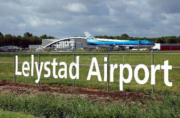 Uitbreiding Lelystad Airport uitgesteld tot 2020